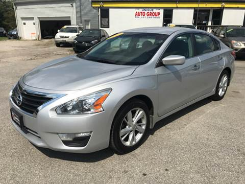 2013 Nissan Altima for sale at Unique Auto Group in Indianapolis IN