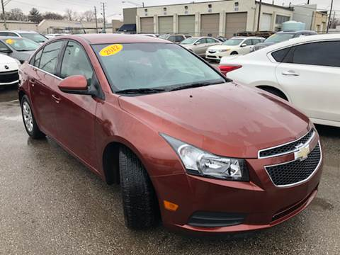 2012 Chevrolet Cruze for sale at Unique Auto Group in Indianapolis IN