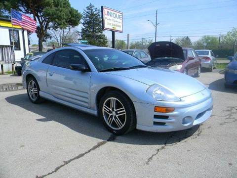 2003 Mitsubishi Eclipse for sale at Unique Auto Group in Indianapolis IN