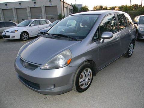 2007 Honda Fit for sale at Unique Auto Group in Indianapolis IN