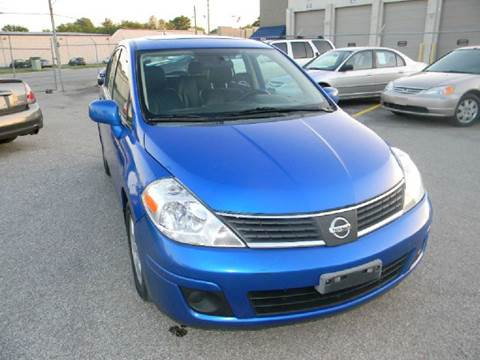 2008 Nissan Versa for sale at Unique Auto Group in Indianapolis IN