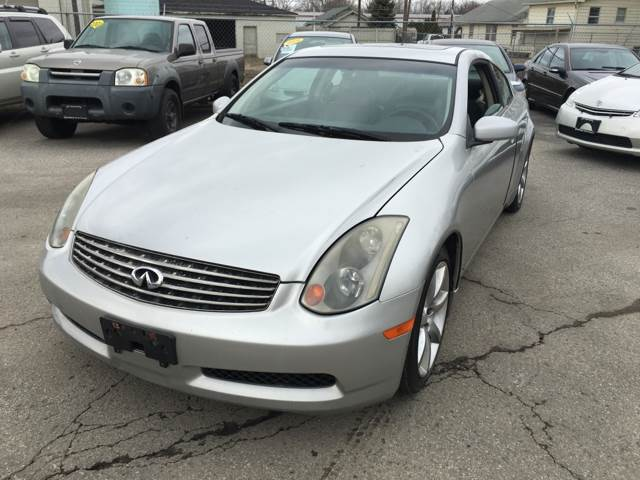 2004 Infiniti G35 for sale at Unique Auto Group in Indianapolis IN