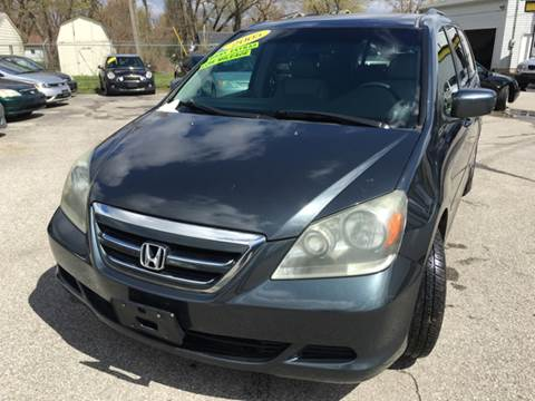2005 Honda Odyssey for sale at Unique Auto Group in Indianapolis IN