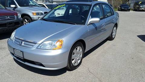 2002 Honda Civic for sale at Unique Auto Group in Indianapolis IN
