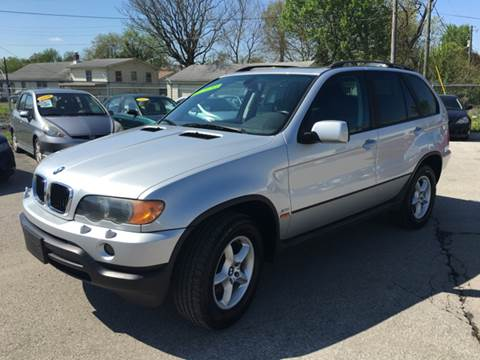 2003 BMW X5 for sale at Unique Auto Group in Indianapolis IN