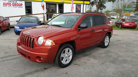 2008 Jeep Compass for sale at Unique Auto Group in Indianapolis IN