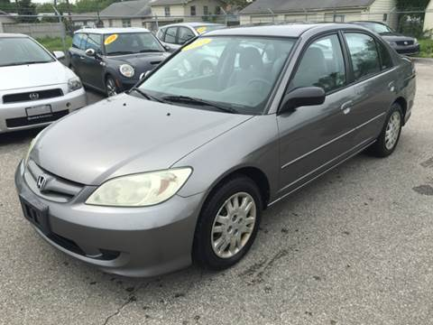 2004 Honda Civic for sale at Unique Auto Group in Indianapolis IN