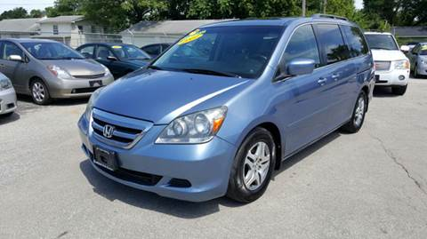 2007 Honda Odyssey for sale at Unique Auto Group in Indianapolis IN