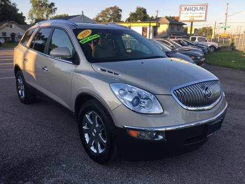 2009 Buick Enclave for sale at Unique Auto Group in Indianapolis IN