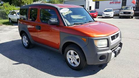 2004 Honda Element for sale at Unique Auto Group in Indianapolis IN