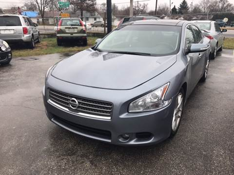 2011 Nissan Maxima for sale at Unique Auto Group in Indianapolis IN