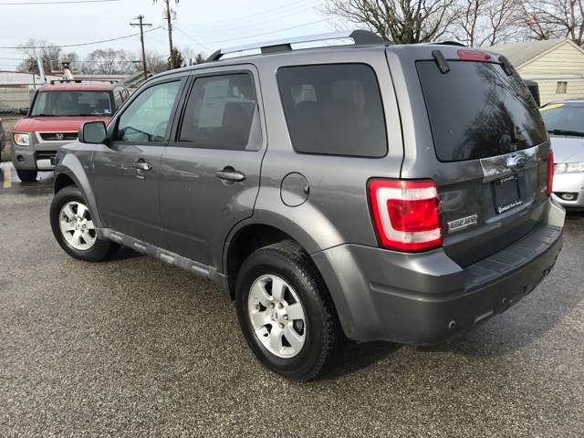2009 ford escape awd limited 4dr suv v6 in indianapolis in. Black Bedroom Furniture Sets. Home Design Ideas