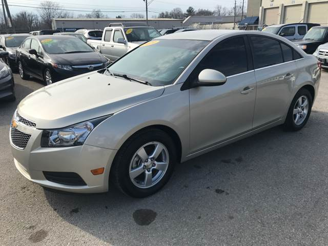 2014 Chevrolet Cruze for sale at Unique Auto Group in Indianapolis IN