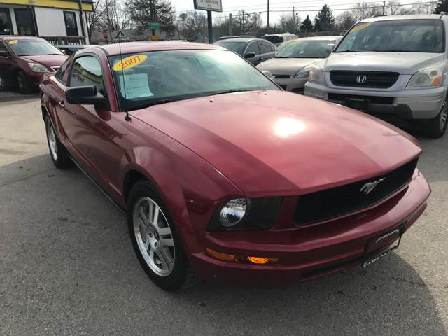 2007 ford mustang v6 premium 2dr coupe in indianapolis in unique vehicle options publicscrutiny Image collections