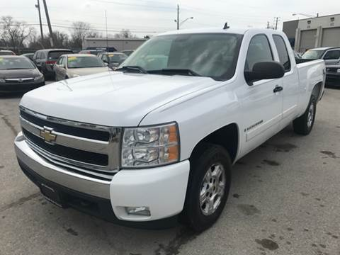2008 Chevrolet Silverado 1500 for sale at Unique Auto Group in Indianapolis IN