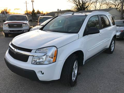 2005 Chevrolet Equinox for sale at Unique Auto Group in Indianapolis IN