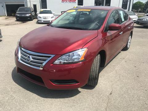2015 Nissan Sentra for sale at Unique Auto Group in Indianapolis IN