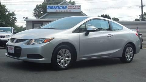 2012 Honda Civic for sale in Palmyra, NJ