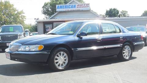 2002 Lincoln Continental for sale in Palmyra, NJ