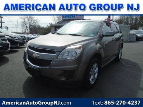 2011 Chevrolet Equinox for sale at American Auto Group Now in Maple Shade NJ