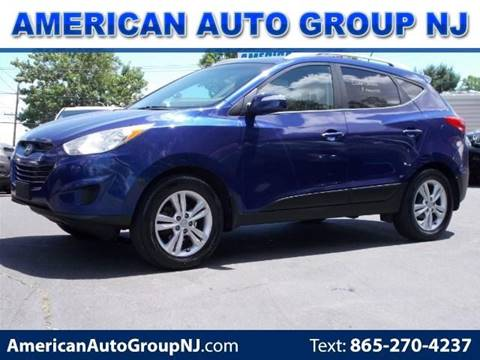 2012 Hyundai Tucson for sale at American Auto Group Now in Maple Shade NJ