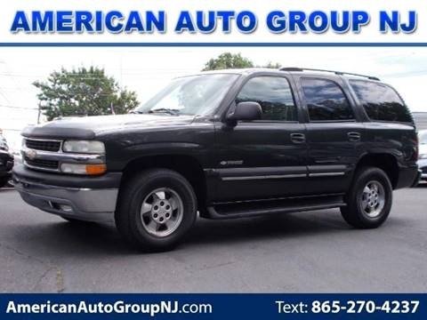 2003 Chevrolet Tahoe for sale at American Auto Group Now in Maple Shade NJ