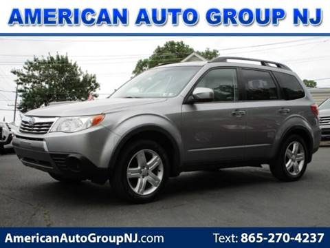 2009 Subaru Forester for sale at American Auto Group Now in Maple Shade NJ