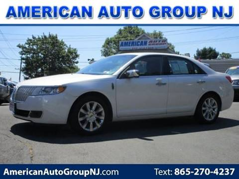 2012 Lincoln MKZ for sale at American Auto Group Now in Maple Shade NJ