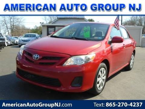 2011 Toyota Corolla for sale at American Auto Group Now in Maple Shade NJ