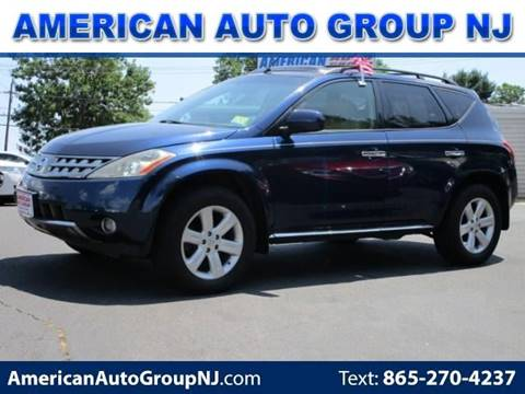 2007 Nissan Murano for sale at American Auto Group Now in Maple Shade NJ