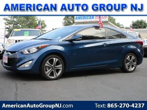 2014 Hyundai Elantra Coupe for sale at American Auto Group Now in Maple Shade NJ
