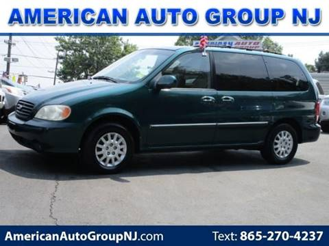 2002 Kia Sedona for sale at American Auto Group Now in Maple Shade NJ