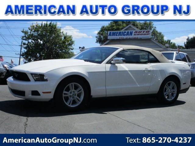 2012 Ford Mustang for sale at American Auto Group Now in Maple Shade NJ