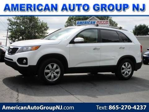 2012 Kia Sorento LX for sale at American Auto Group Now in Maple Shade NJ