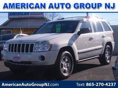 2007 Jeep Grand Cherokee for sale at American Auto Group Now in Maple Shade NJ