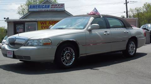 2006 Lincoln Town Car for sale in Palmyra, NJ