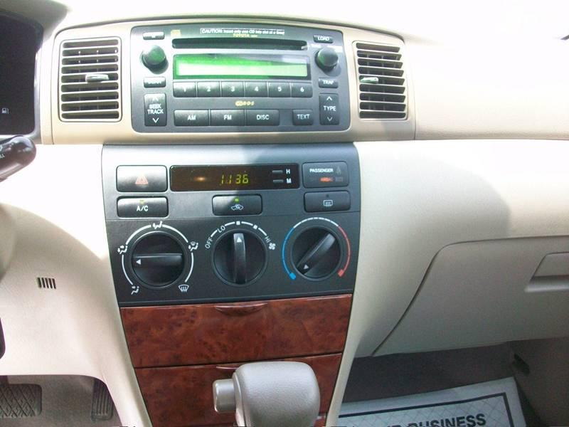 2005 Toyota Corolla LE 4dr Sedan - Wakefield Ma MA