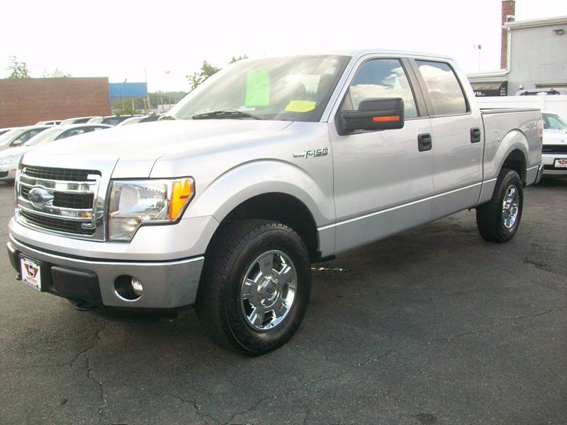 2013 Ford F-150 4x4 XLT 4dr SuperCrew Styleside 5.5 ft. SB - Wakefield Ma MA