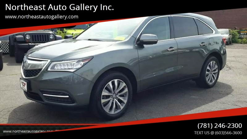 2014 acura mdx sh awd 4dr suv w technology package in wakefield ma ma northeast auto gallery inc. Black Bedroom Furniture Sets. Home Design Ideas