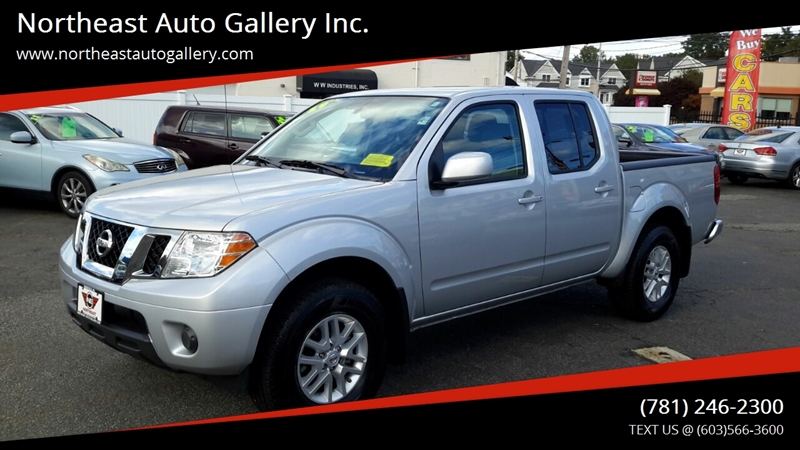 2019 Nissan Frontier 4x4 Sv 4dr Crew Cab 5 Ft Sb 5a In