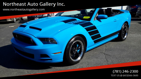 2014 Ford Mustang for sale at Northeast Auto Gallery Inc. in Wakefield Ma MA
