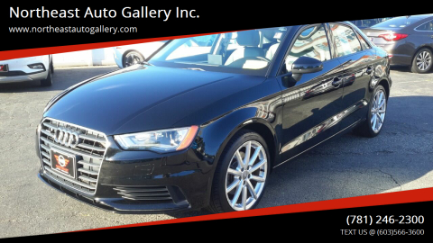 2015 Audi A3 for sale at Northeast Auto Gallery Inc. in Wakefield Ma MA