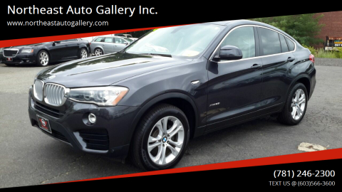 2016 BMW X4 for sale at Northeast Auto Gallery Inc. in Wakefield Ma MA