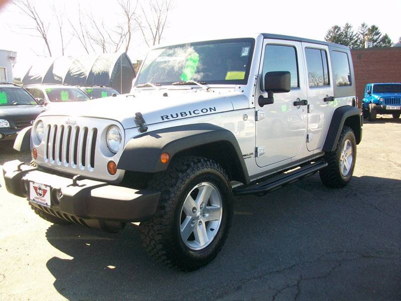 2008 Jeep Wrangler Unlimited 4x4 Rubicon 4dr SUV w/Side Airbag Package - Wakefield Ma MA