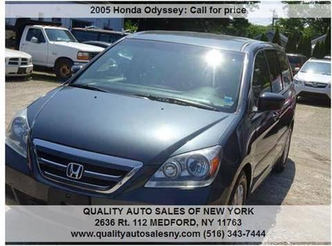 2005 Honda Odyssey for sale in Medford, NY