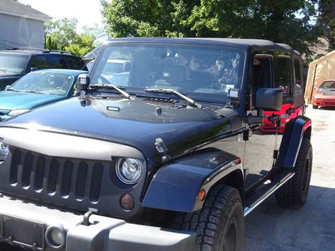 2008 Jeep Wrangler Unlimited for sale in Medford, NY
