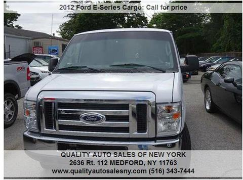 2012 Ford E-Series Cargo for sale in Medford, NY