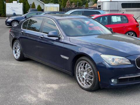 2012 BMW 7 Series for sale at QUALITY AUTO SALES OF NEW YORK in Medford NY