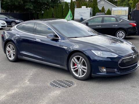 2014 Tesla Model S for sale at QUALITY AUTO SALES OF NEW YORK in Medford NY