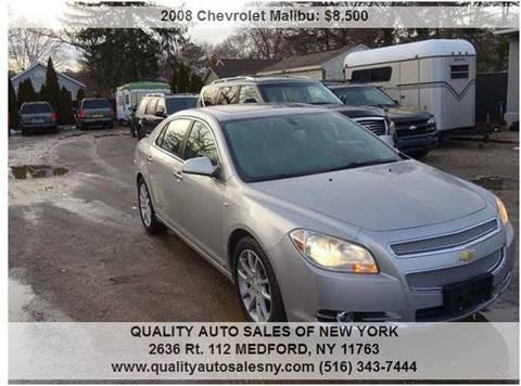 2008 Chevrolet Malibu for sale in Medford, NY